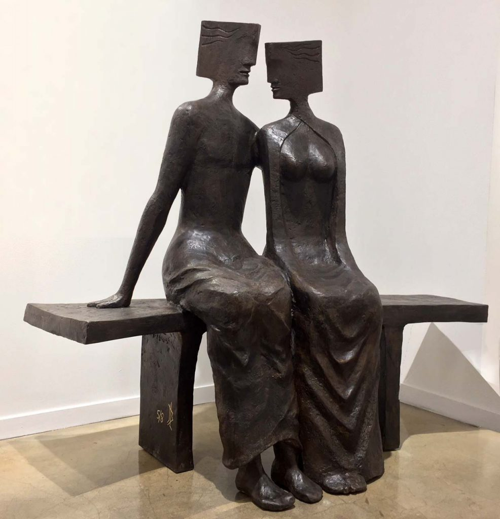 CANTABILE Bronze 145x156x83cm /57x61x33 inches