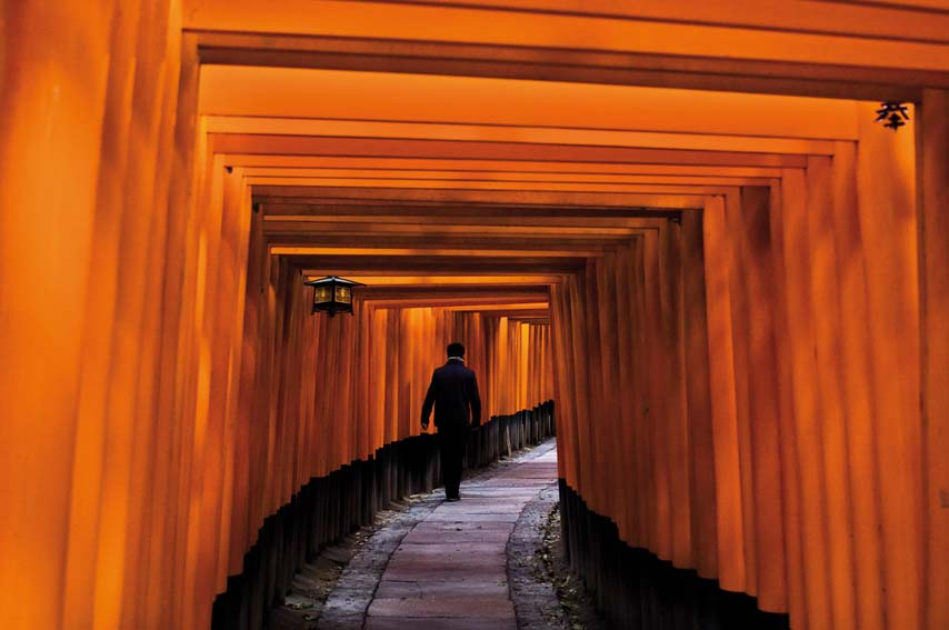 FUSHIMI INARI SHRINE. Fuji Crystal. Limited Edition