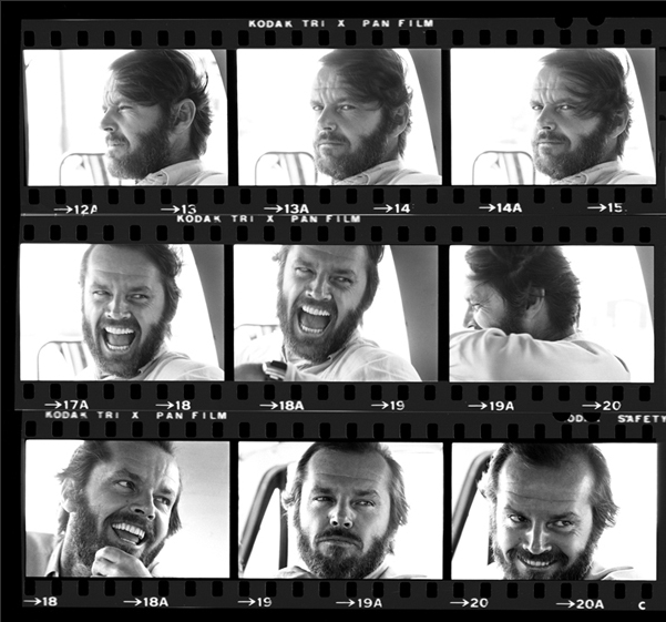 JACK NICHOLSON CONTACT. Fiber-Based, Archival Pigment Prints. Limited Edition