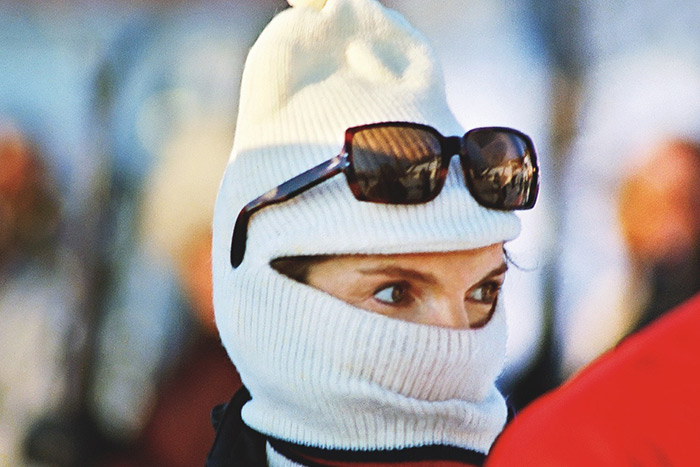 JACKIE IN SKI MASK. Fiber-Based, Archival Pigment Prints. Limited Edition
