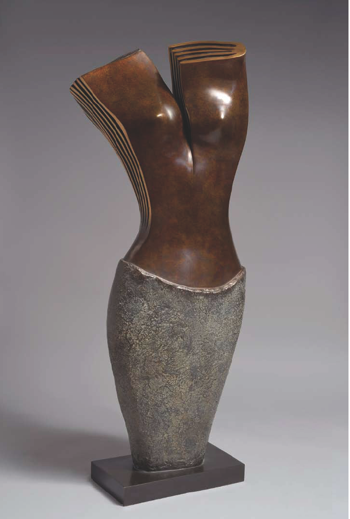 PHILAE Bronze 115x58x35cm / 45,2x22,8x13,7 inches
