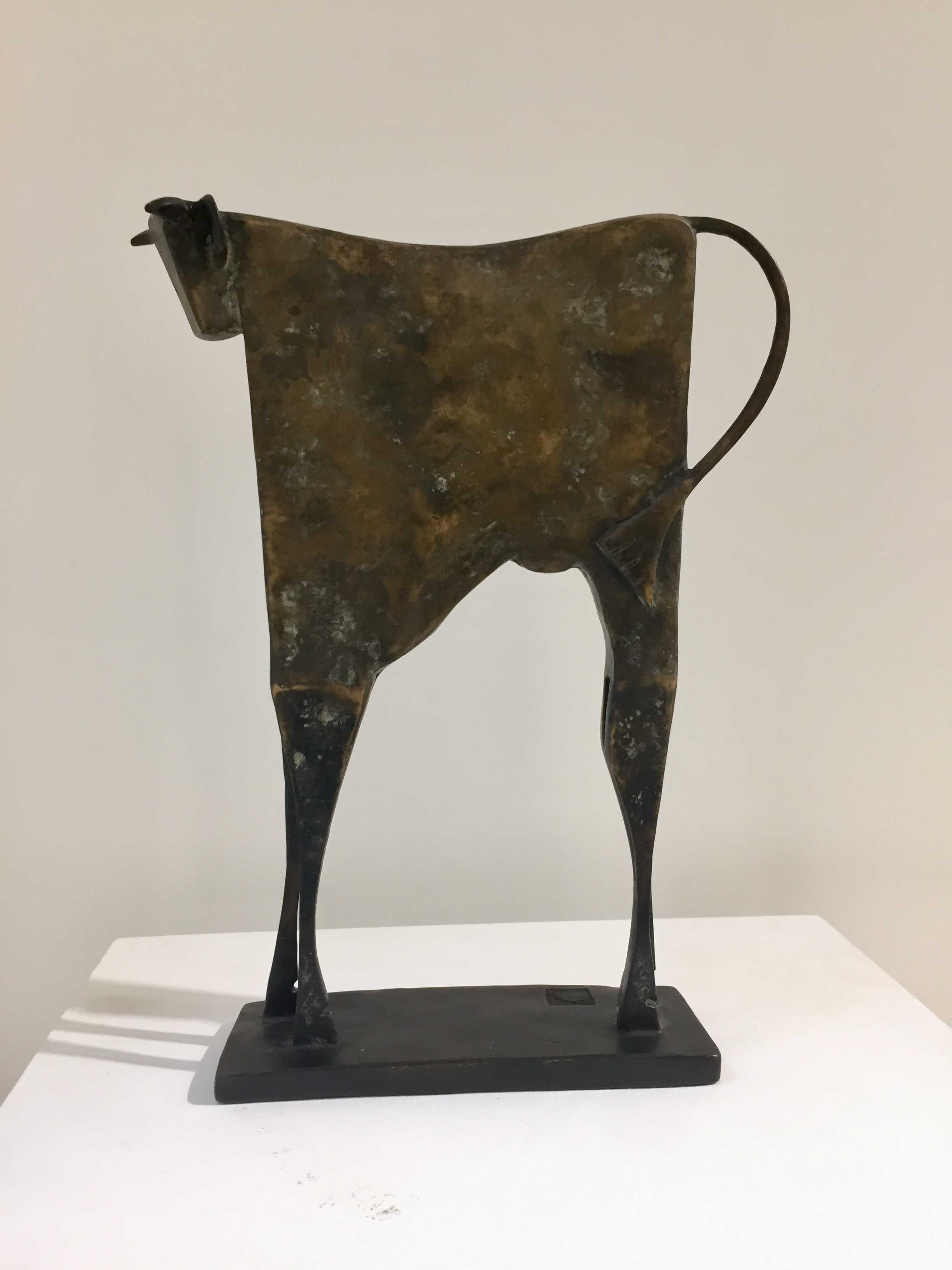 TORO THERIO Bronze 39x30x9cm / 15,3x11,8x3,5 inches