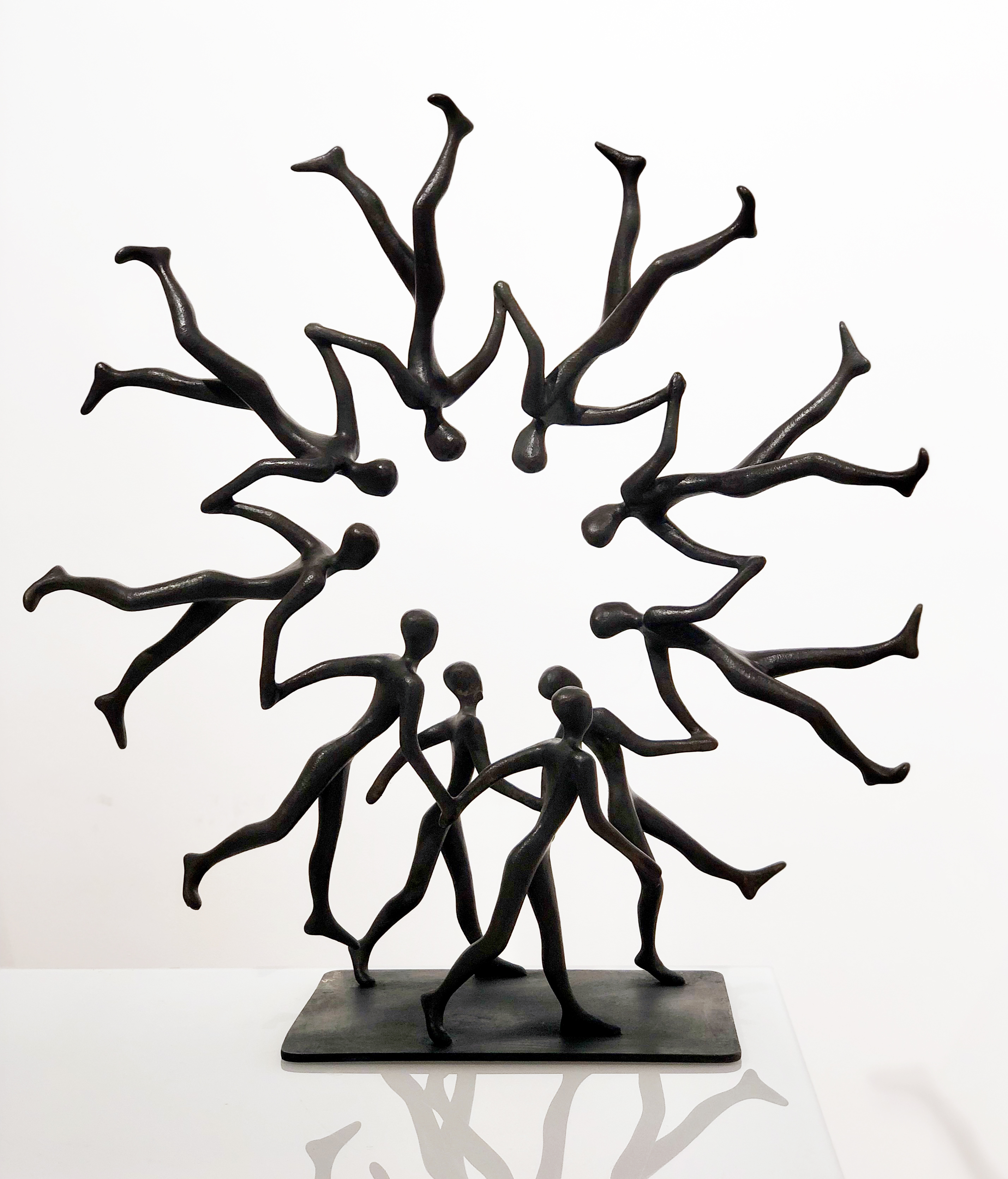 CIRCLE OF LIFE Bronze 60x60x22cm / 23,6x23,6x8,6 inches