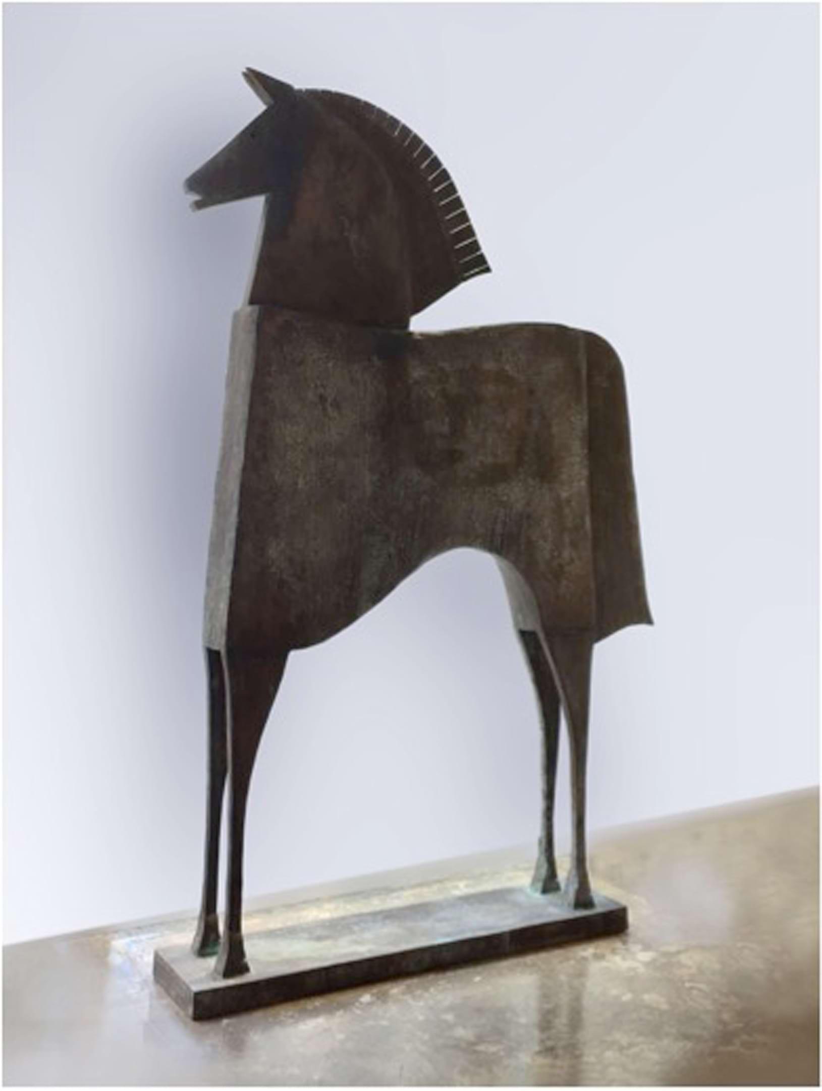 CABALLO NILEO Bronze 240x160x32cm / 94,5x63x12,5 inches