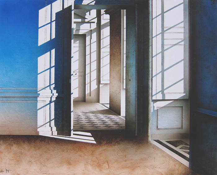 LUMIERE DU JOUR Huile sur Toile 162x130cm / 63,7x51,1 inches