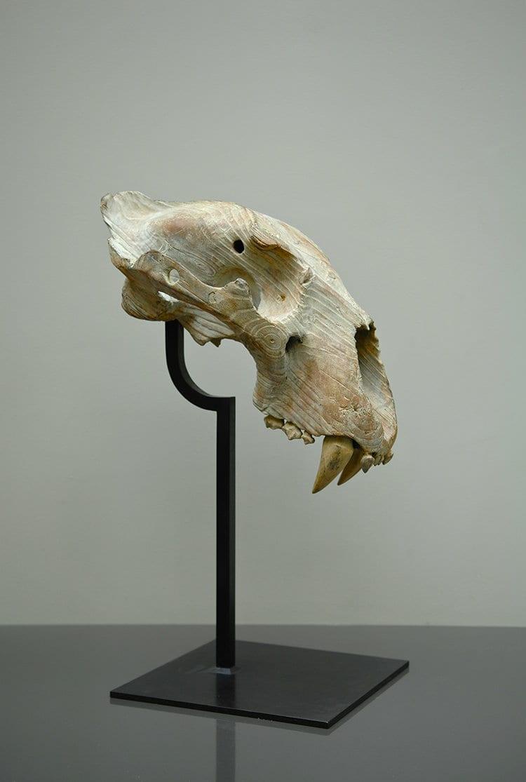 CRANE DE LION Bronze 66x45x28cm /26x18x11  inches