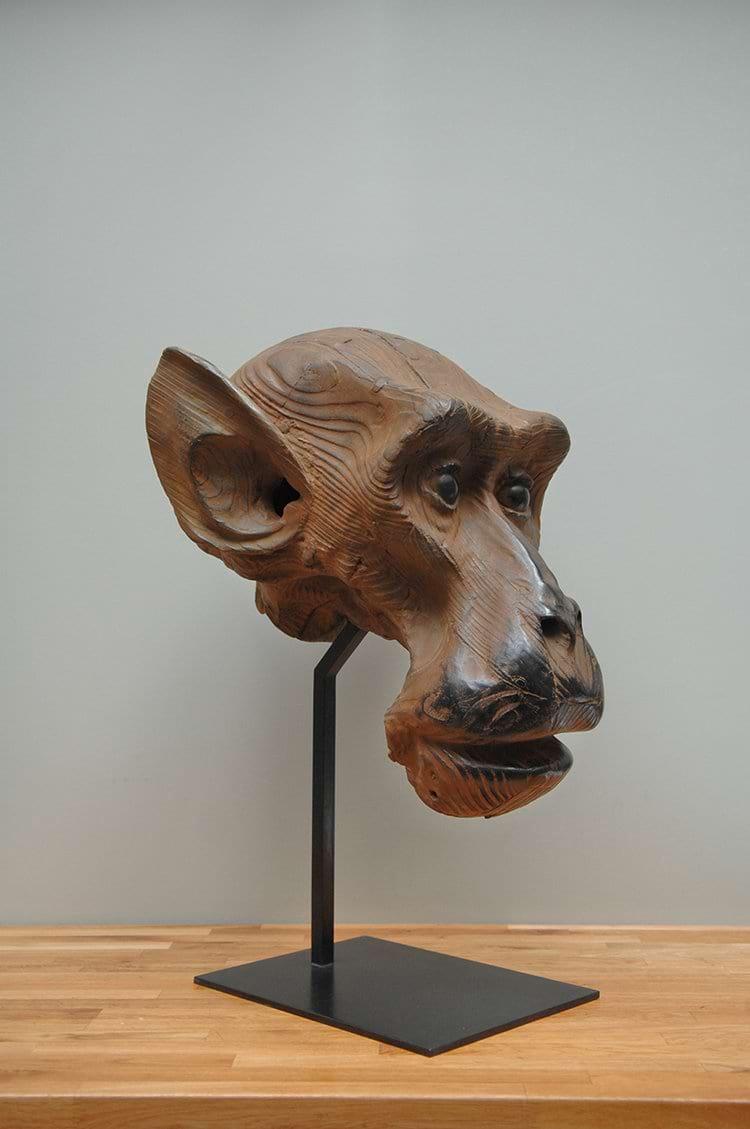 ETUDE DE MACAQUE Bronze 77x54x46cm / 30x21x18 inches