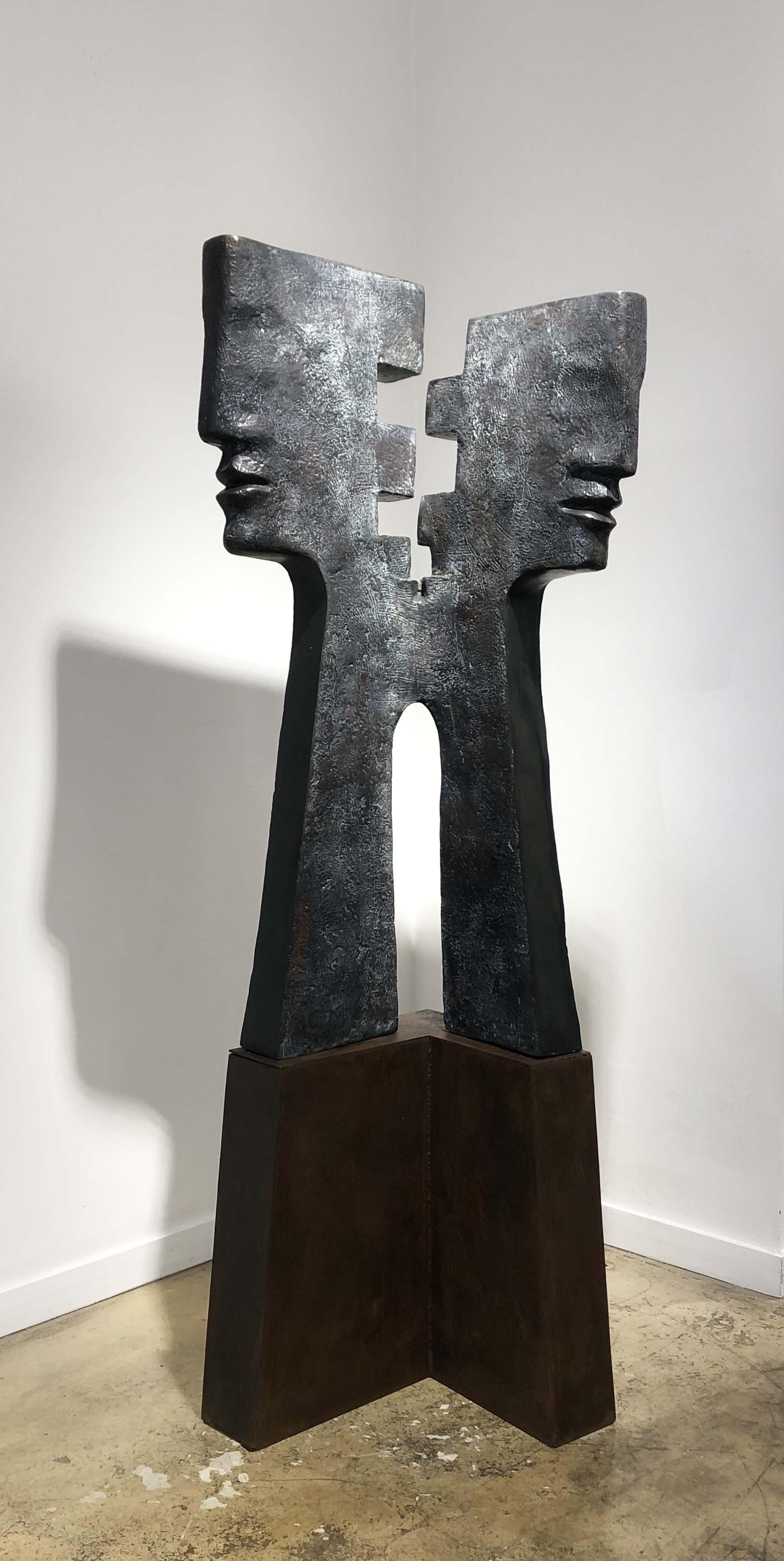 EPSILON Bronze 159x55x53cm / 62,5x21,6x20,8 inches & 250x100x60cm/98.4x39.3x23.6 inches