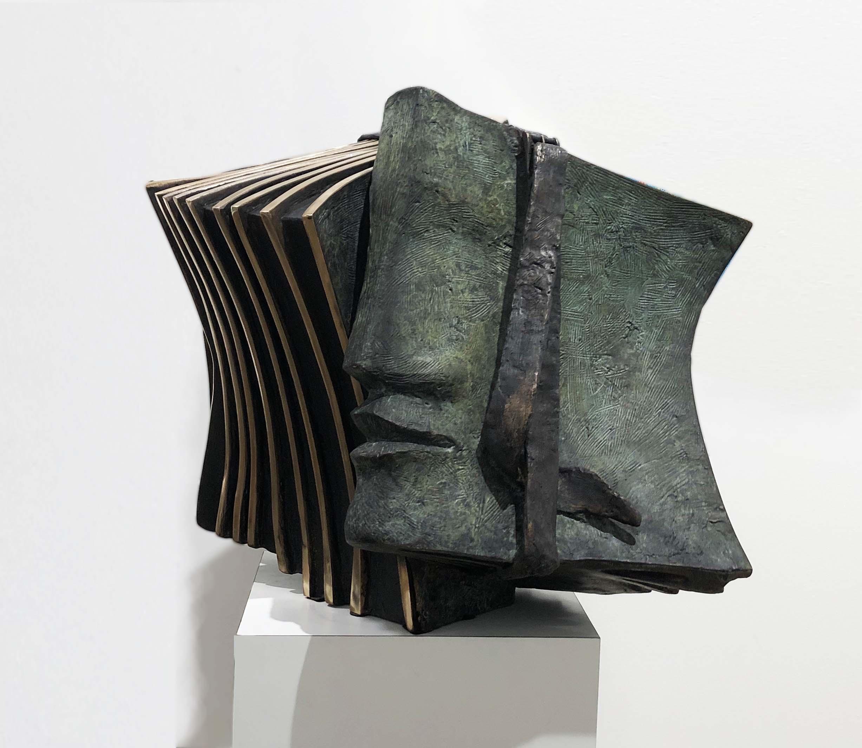 RECUEIL Bronze 52x65x50cm /20,4x25,5x19,6 inches