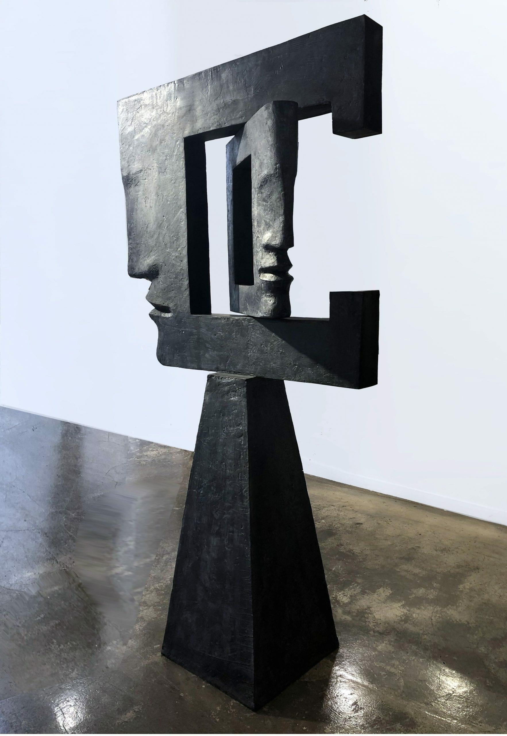 REVERSO II Bronze 205x115x46cm / 80,7x45,2x18,1 inches