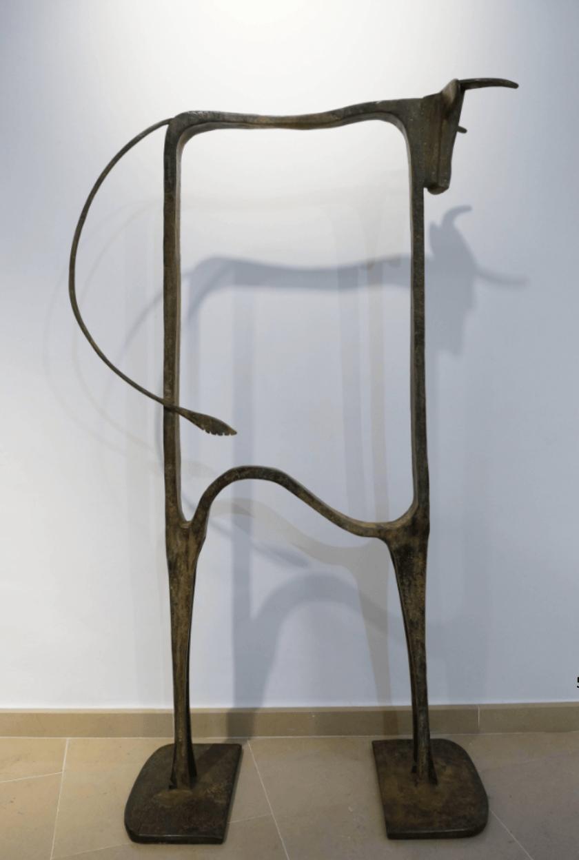 TORO PSILO Bronze 135x80x32cm / 53,1x31,5x12,6 inches