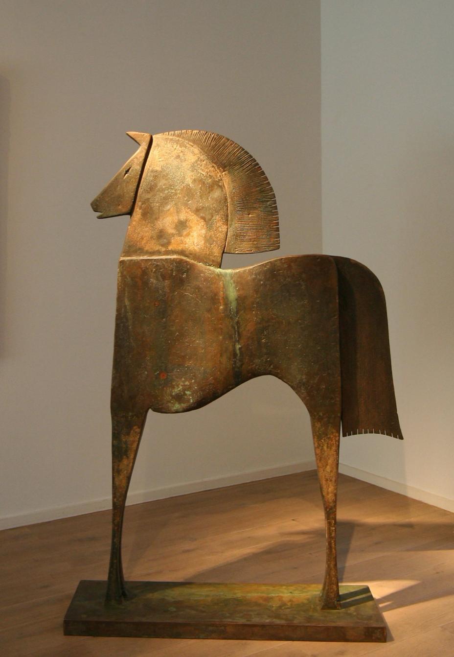 CABALLO ERIDEL Bronze 165x112x31,5cm / 64,9x45,2x12,5 inch