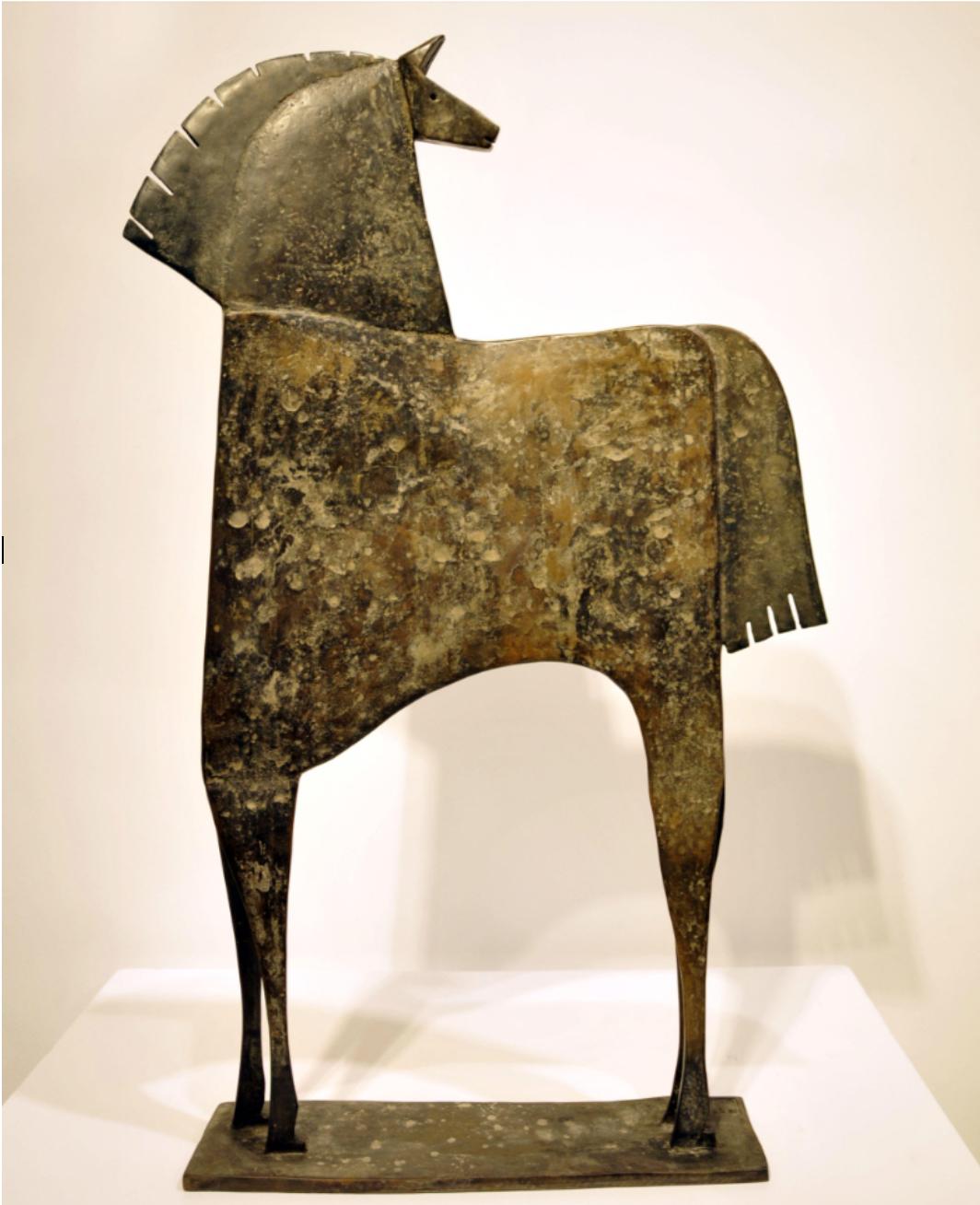 CABALLO EPALYO Bronze 80x53x11cm / 31,9x20,8x4,3 inches