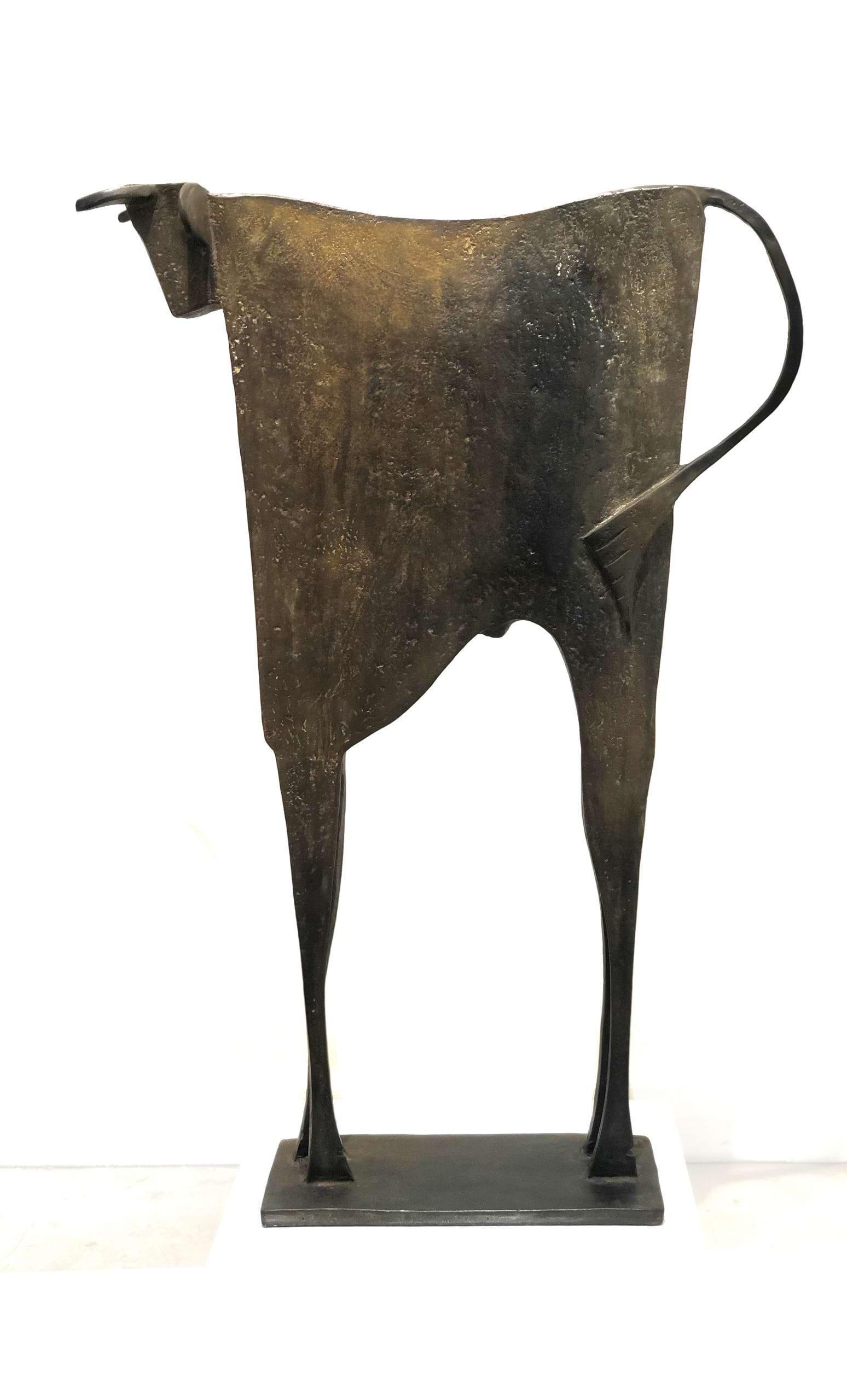 TORO TIESTES Bronze 75X54X13 cm / 29,5X21,2X5,1 inches