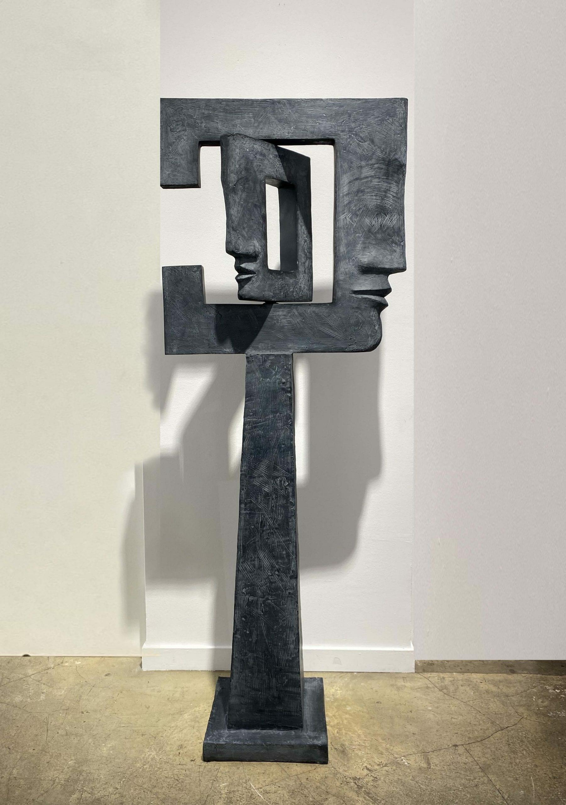 REVERSO II Bronze 158x60x30 cm  /62,2x23,6x11,8 inches