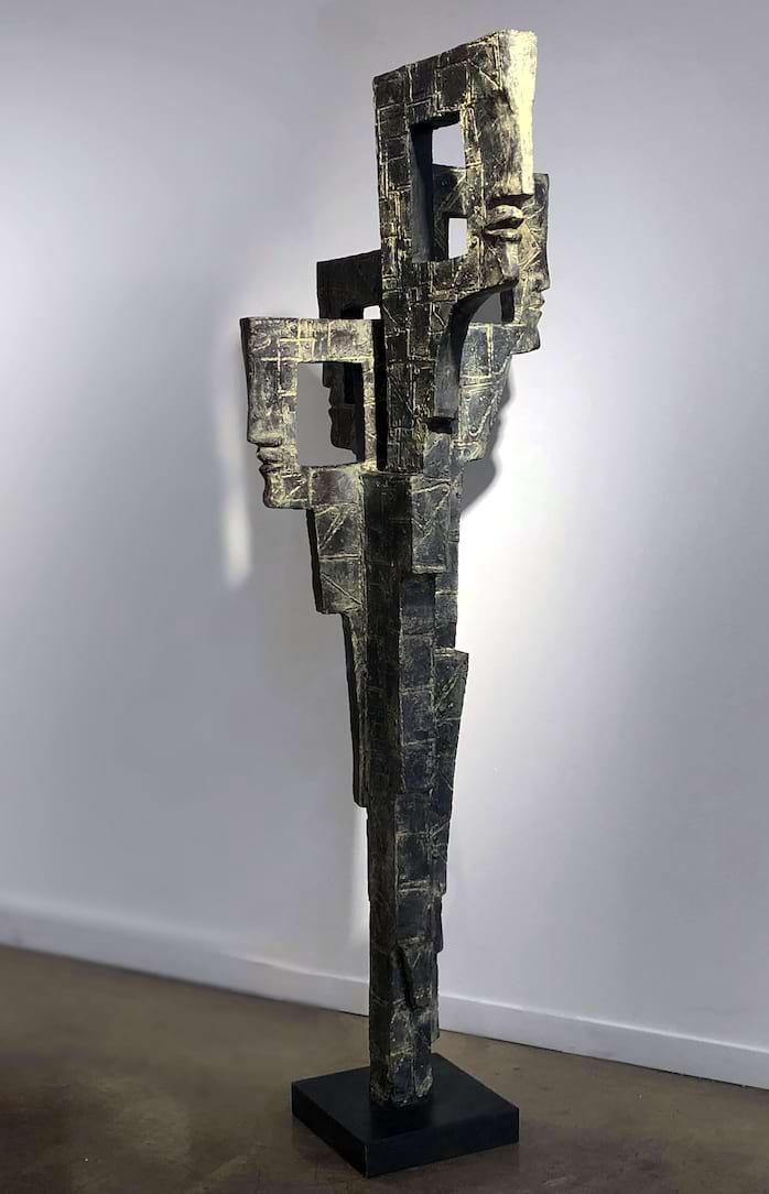 QUATUOR Bronze 185x85x65cm / 73x33x25,5 inches & 260x120x100cm / 102x47.2x39 inches