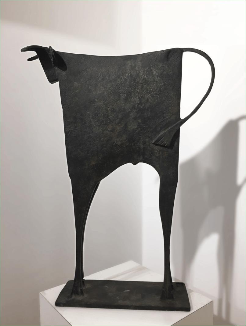 TORO BIZANTE Bronze 69x50x13cm / 27,1x19,§x5,1 inches